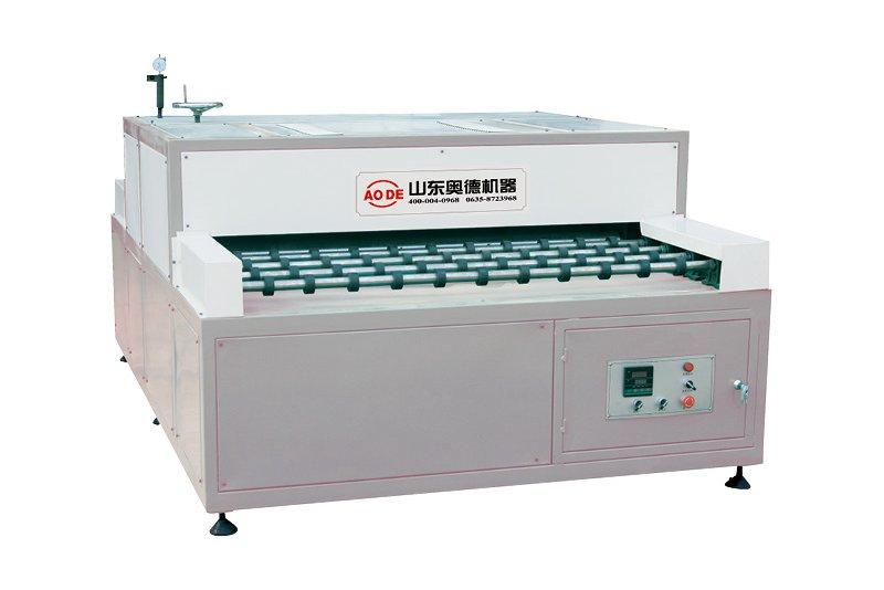 全传动卧式玻璃热压机